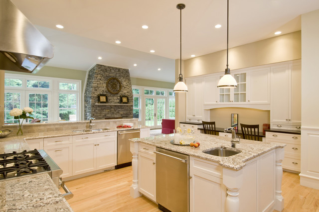 Spacious Family Kitchen and Bath eclectic kitchen