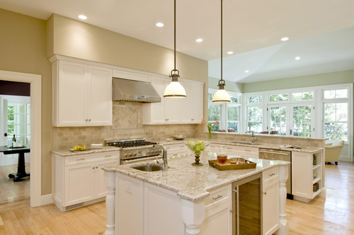 Eclectic Kitchen design by Boston Tile Stone And Countertop ...