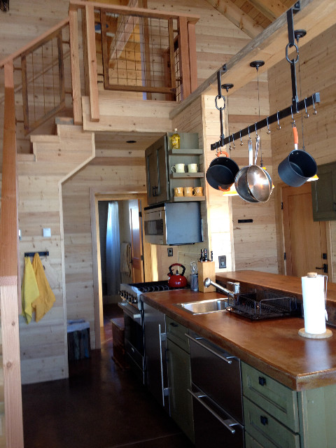 Mountain Retreat eclectic-kitchen