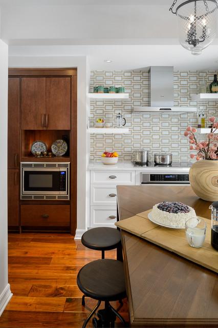 Eclectic Kitchen Renovation transitional-kitchen