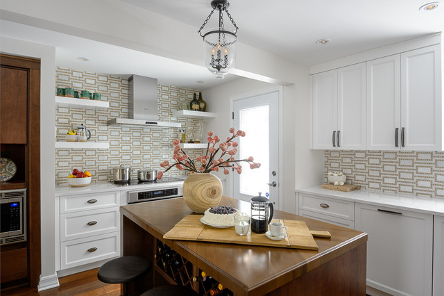 Eclectic Kitchen Renovation transitional-kitchen