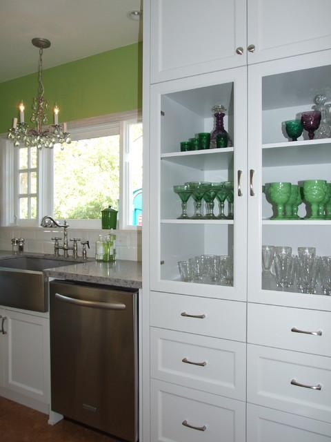 Green Apple Kitchen eclectic-kitchen