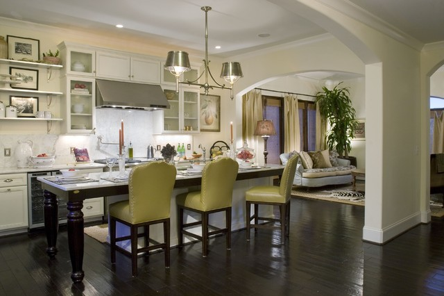 Are you not entertained!? eclectic-kitchen