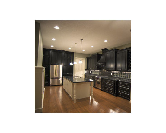 What color should I paint my kitchen walls with dark gray