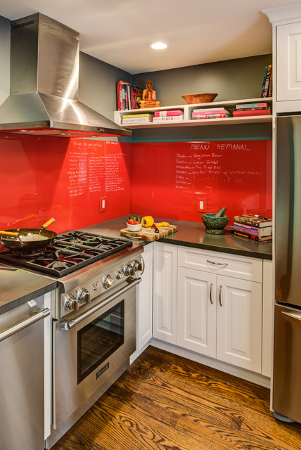 Eclectic Kitchen with Modern Functionality, Designed By: Janis Manacsa