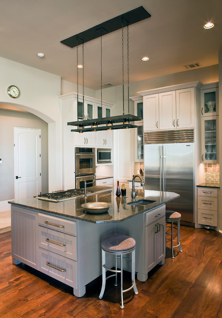 Eclectic Lake House Traditional Kitchen Austin By