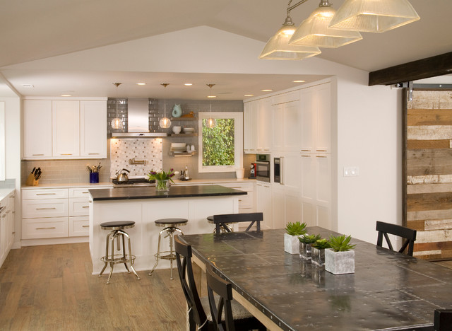 Eclectic Sophistication contemporary-kitchen