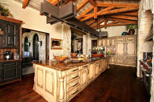 Eclectic Spanish Style Lake House