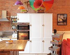Eclectic Stoke Newington Apartment eclectic-kitchen