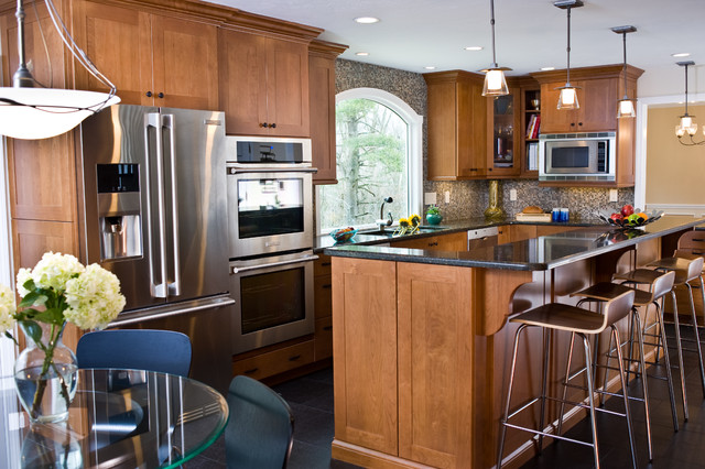 Eclectic, traditional and modern - all in one! eclectic-kitchen