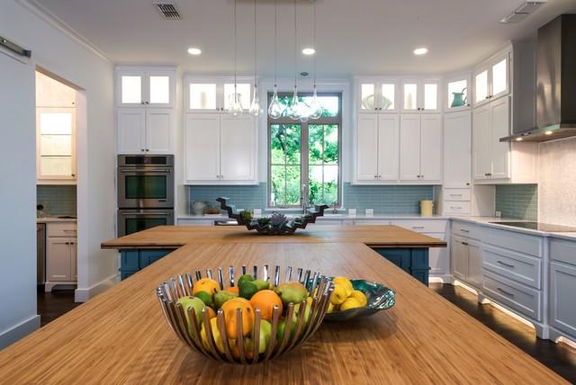 Eco friendly kitchen - Traditional - Kitchen - dallas - by Barbara ...