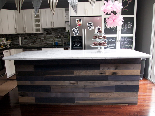 ECO-FRIENDLY KITCHEN ISLAND - Contemporary - Kitchen - Baltimore ...