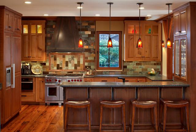 Eco Friendly Kitchen traditional-kitchen