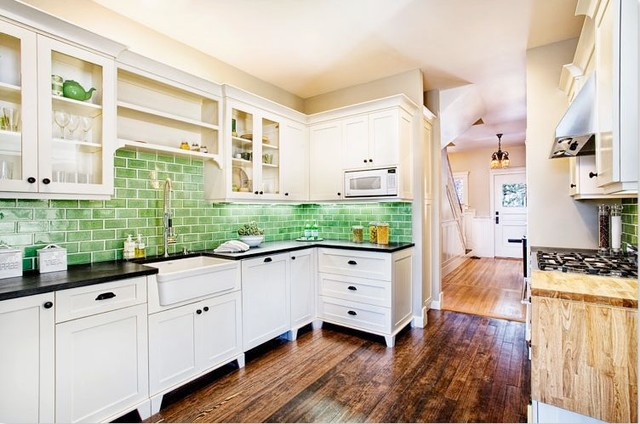 Downey  Traditional  Kitchen  Other  by Eco+Historical, Inc