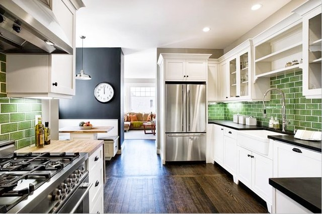 eco+historical Downey traditional-kitchen