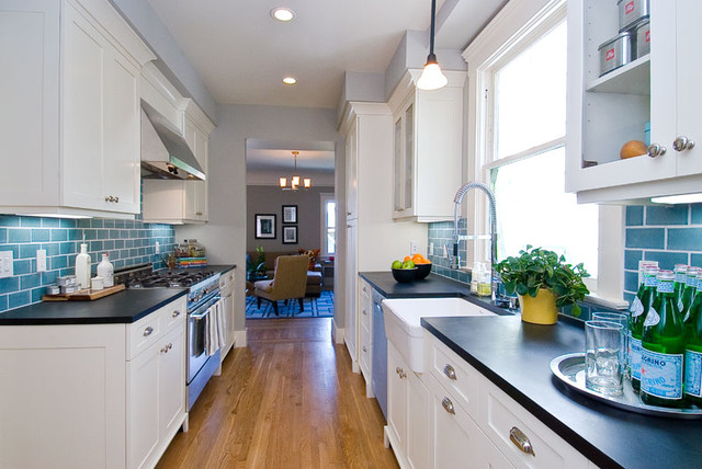 eco+historical Frederick traditional-kitchen