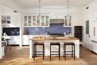 eco+historical Victorian Update contemporary-kitchen