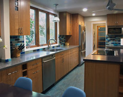 ECOblue kitchen traditional-kitchen