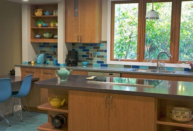 ECOblue kitchen modern-kitchen