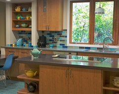 ECOblue kitchen modern kitchen