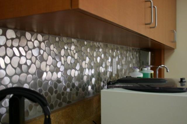 Eden Mosaic Tile Installations River Rock Pattern Mosaic