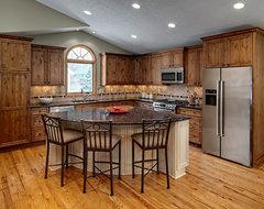 Eden Prairie Kitchen rustic-kitchen