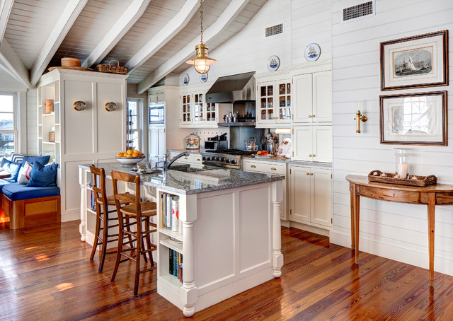 Edgartown Boat House - beach style - kitchen - other metro - by