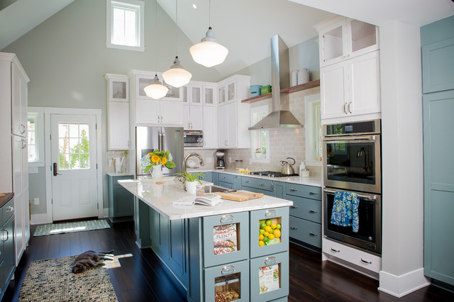New This Week 4 Storage Ideas For The End Of Your Kitchen Island