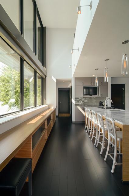 Edgewater Residence modern-kitchen