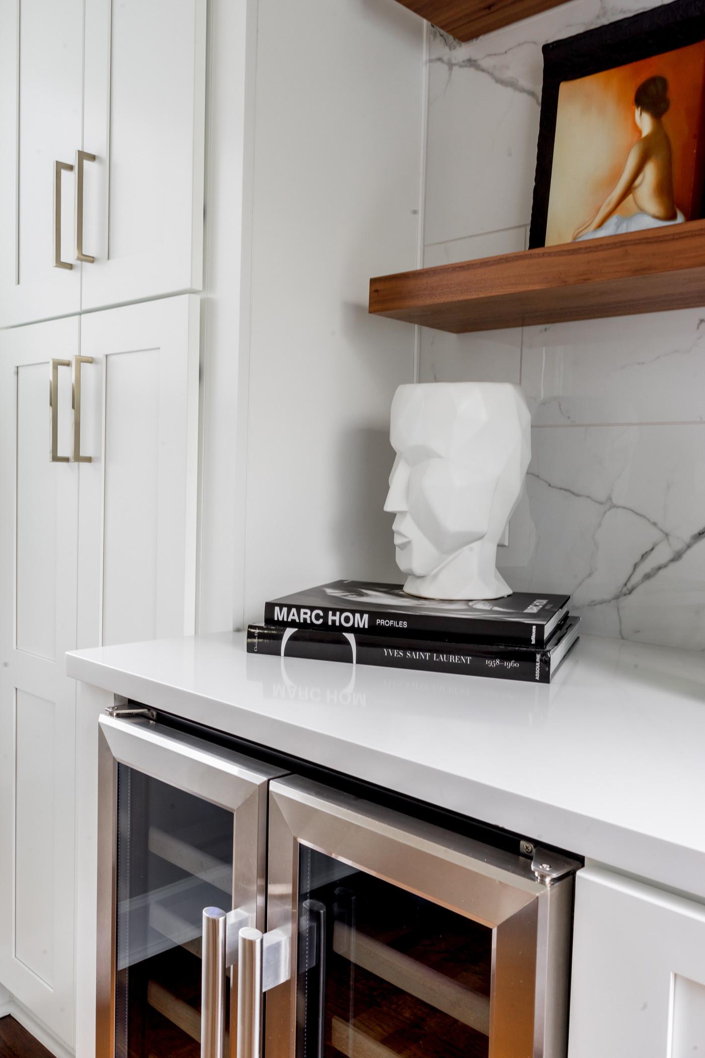 Edgewood White modern kitchen