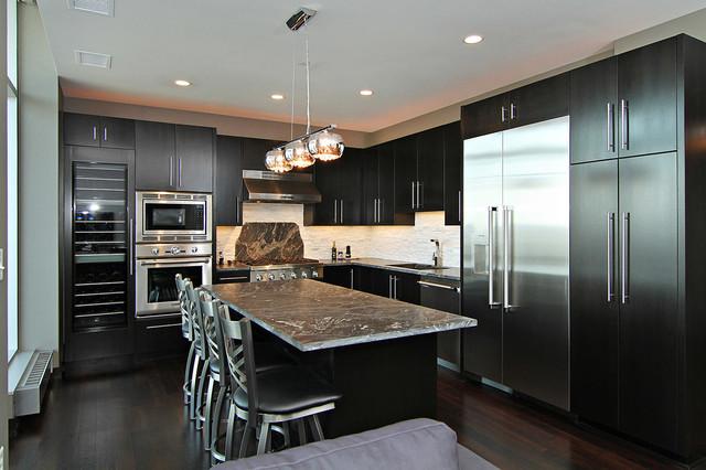 Edina Galleria Residences - Unit 1505 contemporary-kitchen