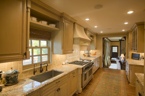 Oil-rubbed bronze- Houzz Kitchen
