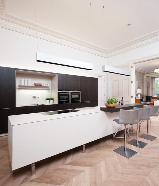 Edinburgh town house contemporary kitchen edinburgh for Kitchen ideas edinburgh