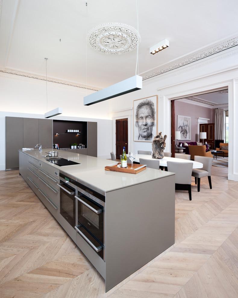 Edinburgh Town House Contemporary Kitchen Edinburgh By Cameron Interiors Edinburgh Glasgow
