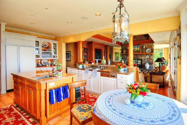Edmonds Residence traditional-kitchen