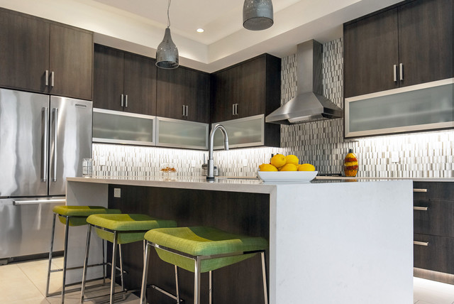 Edmonton New Build Viga Contemporary Kitchen Edmonton By Superior Cabinets