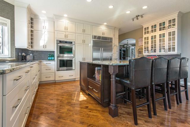Edmonton Woodland Transitional Kitchen Calgary By Superior Cabinets
