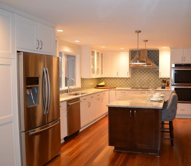 Education hill transitional rambler kitchen remodel for Rambler kitchen remodel ideas