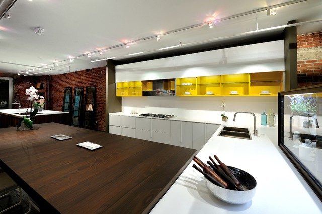 Effeti kitchen cabinet showroom chelsea nyc modern for Kitchen design showroom