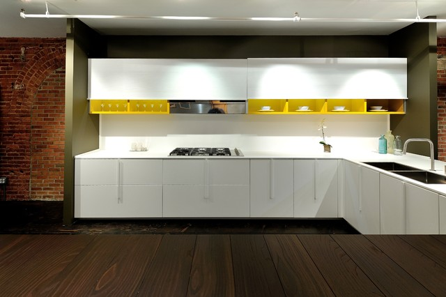 Effeti Kitchen Cabinet Showroom Chelsea NYC Modern Kitchen