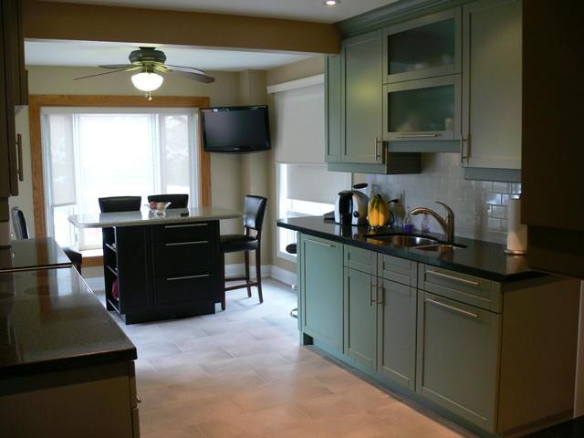 Efficient Kitchen Contemporary Kitchen Toronto By Savoy Kitchens By D