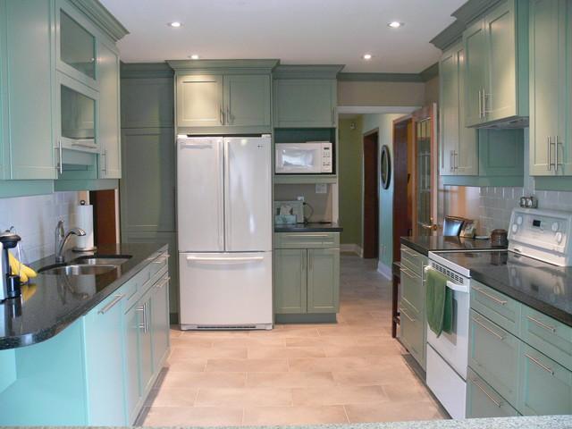 Efficient Kitchen contemporary-kitchen