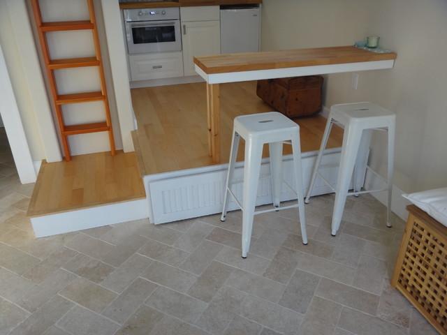 Efficient Small Studio Apartment - Contemporary - Kitchen - Tampa ...