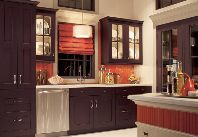 Http Houzz Co Uk Photos 10465562 Eggplant Kitchen Transitional Kitchen Other Metro