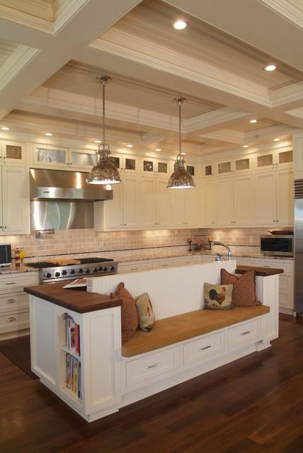 Egret Pointe - Gourmet Kitchen - Traditional - Kitchen - Charlotte