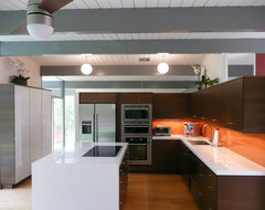 Eichler Kitchen Remodel in Orange County (Fairhaven Neighborhood_ modern-kitchen