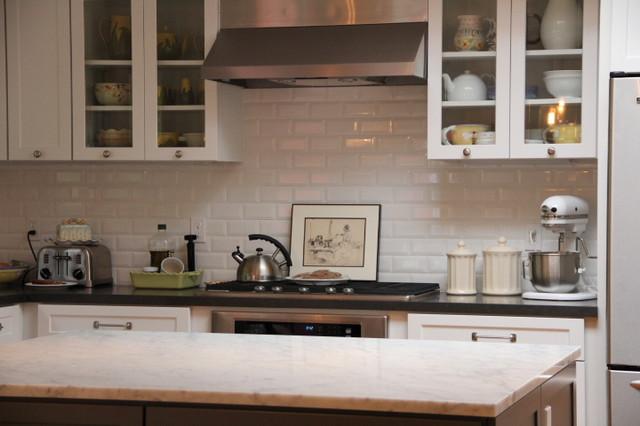 El Camino Real Ranch House transitional kitchen