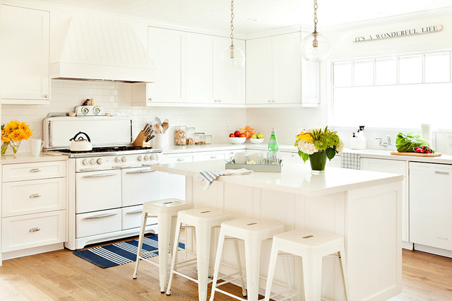 El Segundo Beach Cottage Beach Style Kitchen Los Angeles By Anne Collard Design