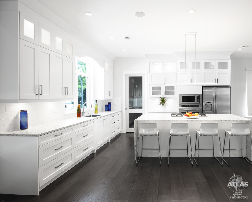 Contemporary Kitchen Vancouver, All Wood Kitchen Cabinets Surrey Bc