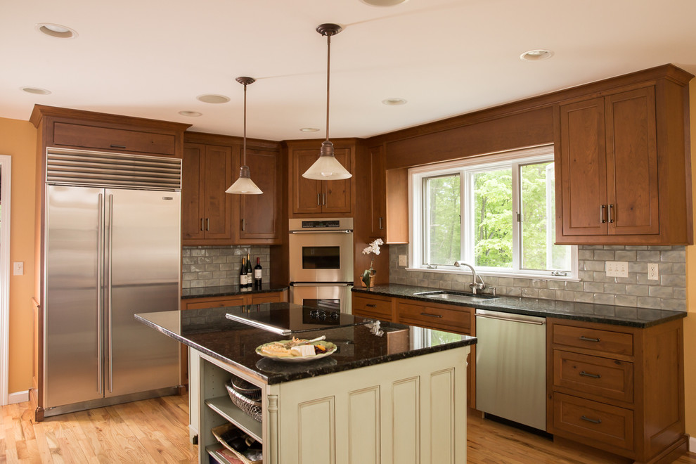 Elegant & Casual - Custom Cabinets in CT - Traditional ...